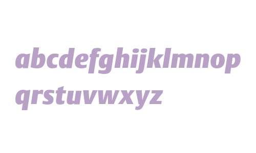 DTLArgoST Heavy Italic