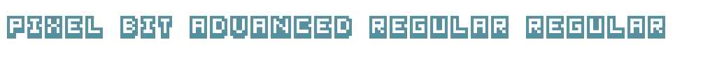 Pixel Bit Advanced Regular