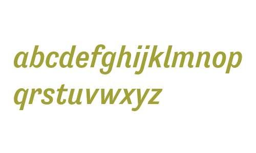 Tenso W00 Medium Italic