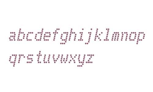 Telidon W00 Bold Italic