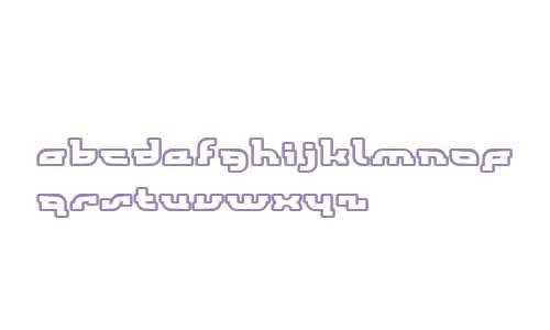 KonoCondensed Outline W00 Rg
