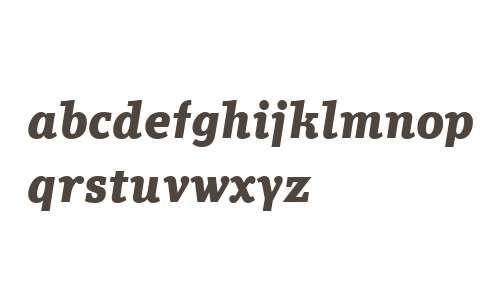 Technotyp W02 Bold Italic
