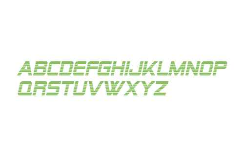 SF Alien Encounters Italic V1