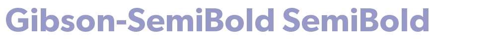 Gibson-SemiBold