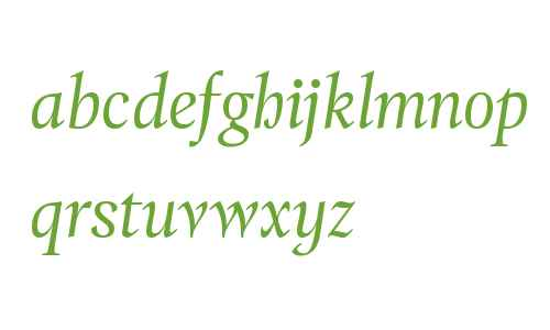 Tramuntana Text W00 Italic