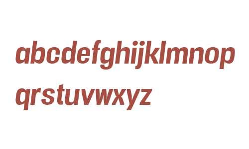 Vacer Sans W00 Bold Italic