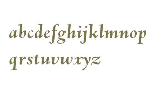 URW Deepdene W01 Bold Italic