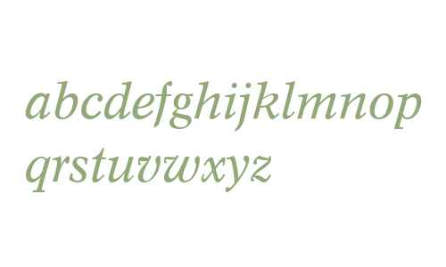 Concorde (R) Expert Italic OsF