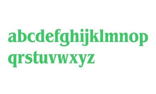 Benguiat* Condensed Bold