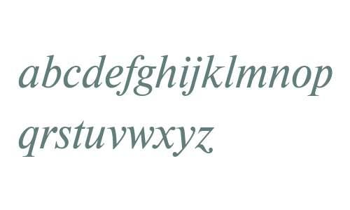 Newton W07 Italic