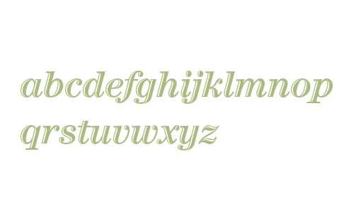 ITC Century Handtooled Bold Italic