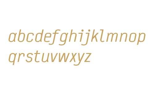 TypestarWeb-Italic W03 Regular