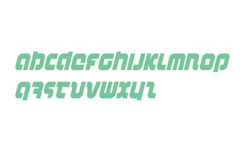 Combat Droid Condensed Italic