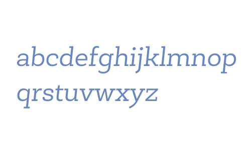 Newslab W03 Book Italic