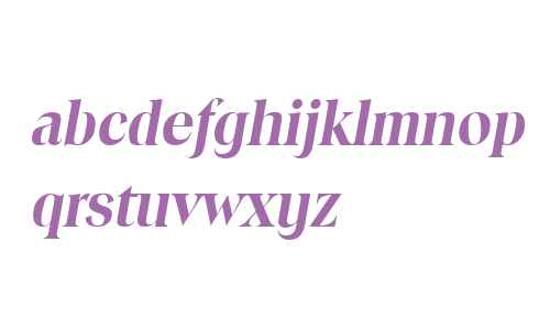 Toledo Bold Italic