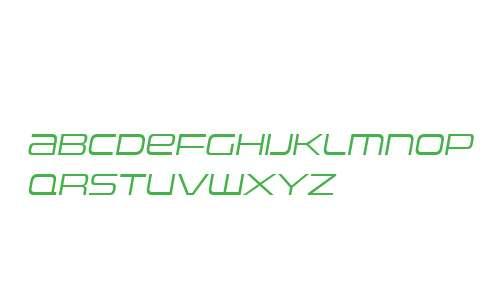 Uniwars W00 Light Italic