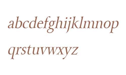 Array Thin Italic