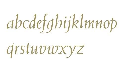 Weiss BT W03 Italic