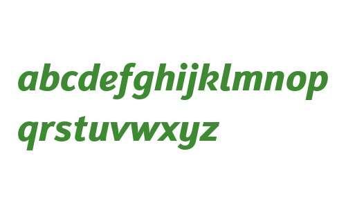 Insider W02 Bold Italic