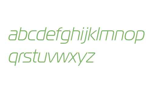 Magistral W01 Light Italic