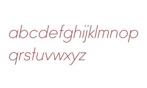 Ano Half W00 Italic