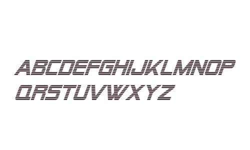 Alien Encounters Italic V2