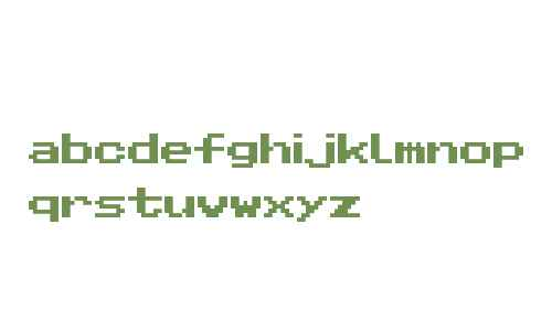 Pixel Sans Serif Regular