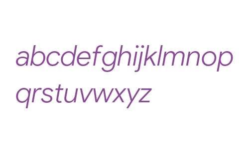 Product Sans Light Italic