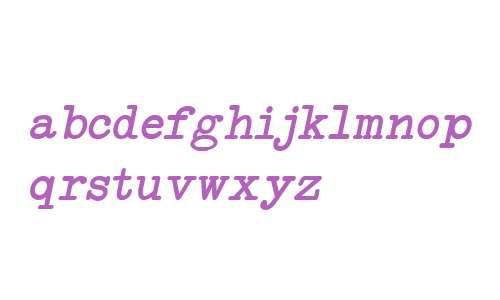 NeoBulletin Italic