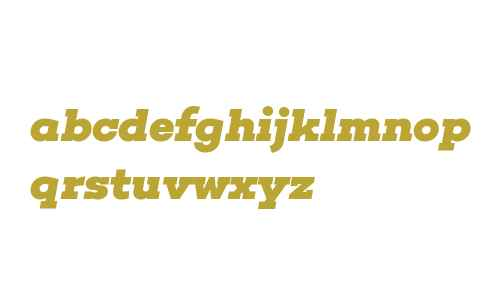 Choplin ExtraBold Italic