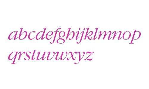 GaramondCTT Italic