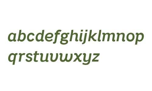 Bright Grotesk Semibold Italic