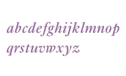 Ehrhardt MT Semi Bold Italic