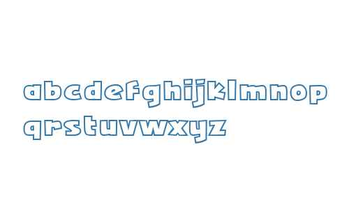 Squarejaw Outline Intl BB W00