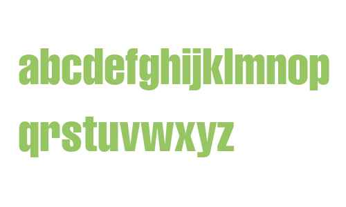 Helvetica LT W04 Compressed