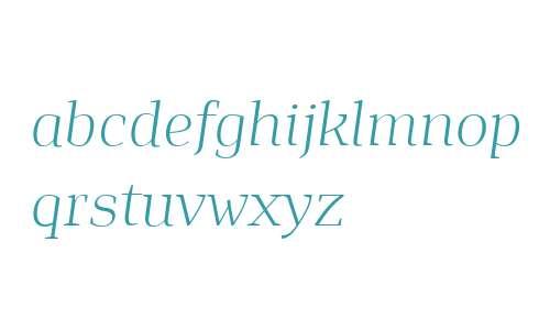 Isle Headline PERSONAL USE Light Italic