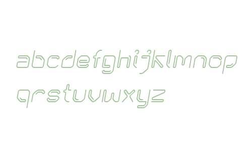 KneeonBold Italic W00 Regular