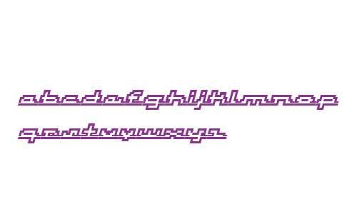 AtomicOutline Script Italic W00