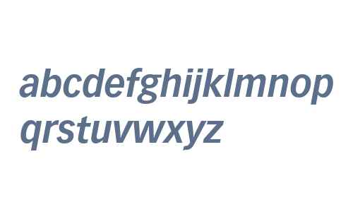 Vectora LT W04 76 Bold Italic