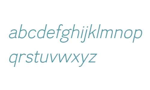 Divulge W00 Light Italic
