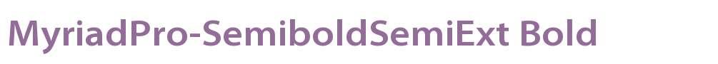 MyriadPro-SemiboldSemiExt