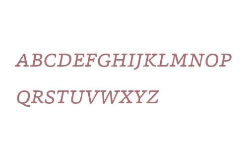 Capita W01SC Light Italic