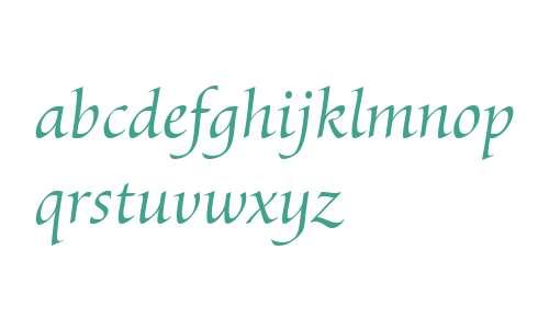 Byngve LT W01 Italic