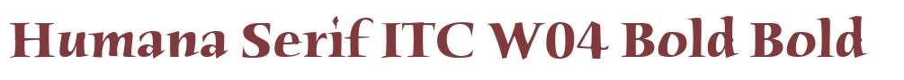 Humana Serif ITC W04 Bold