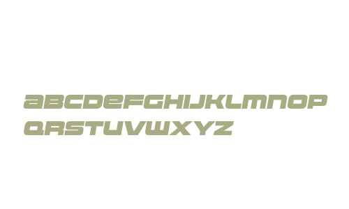 Uniwars W00 Black Italic