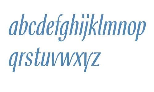 Rossika W10 Light Italic