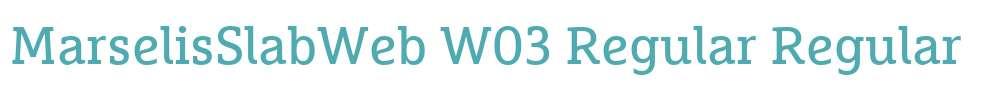 MarselisSlabWeb W03 Regular