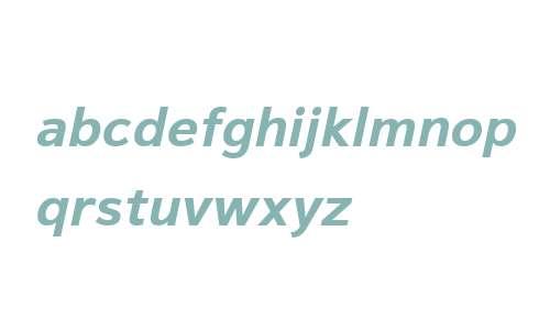 Magnum Sans W01 Bold Oblique V1