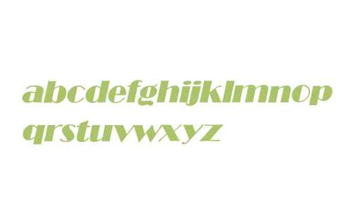 BroadwayItalic
