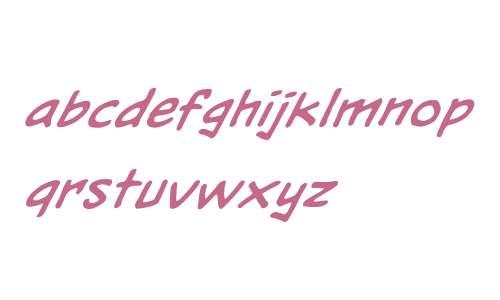 HeavyMettle LC BB W00 Italic